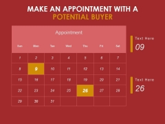 Make An Appointment With A Potential Buyer Ppt PowerPoint Presentation Shapes