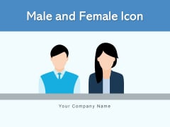 Male And Female Icon Business Meeting Ppt PowerPoint Presentation Complete Deck
