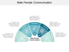 Male Female Communication Ppt PowerPoint Presentation Styles Slide Cpb