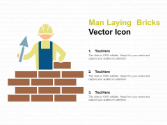 Man Laying Bricks Vector Icon Ppt PowerPoint Presentation Layouts Influencers