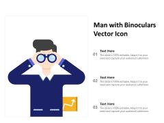 Man With Binoculars Vector Icon Ppt PowerPoint Presentation Inspiration Portrait PDF