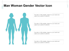 Man Woman Gender Vector Icon Ppt PowerPoint Presentation Ideas Background Image