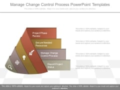 Manage Change Control Process Powerpoint Templates