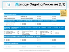 Manage Ongoing Processes Planning Ppt PowerPoint Presentation Gallery Picture