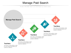 Manage Paid Search Ppt PowerPoint Presentation Infographics Format Ideas Cpb Pdf