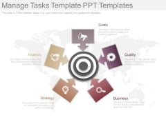 Manage Tasks Template Ppt Templates