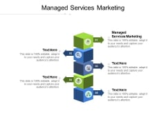 Managed Services Marketing Ppt PowerPoint Presentation Pictures Elements Cpb Pdf
