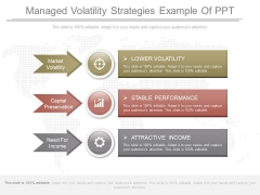 Managed Volatility Strategies Example Of Ppt