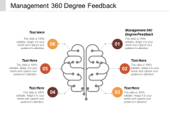 Management 360 Degree Feedback Ppt PowerPoint Presentation Inspiration Design Inspiration Cpb