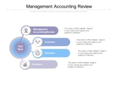 Management Accounting Review Ppt PowerPoint Presentation Infographic Template Pictures Cpb