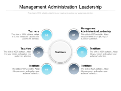 Management Administration Leadership Ppt PowerPoint Presentation Inspiration Layout Cpb
