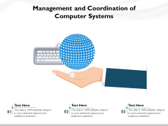 Management And Coordination Of Computer Systems Ppt PowerPoint Presentation Gallery Sample PDF