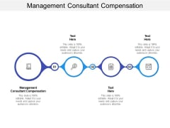 Management Consultant Compensation Ppt PowerPoint Presentation Pictures Background Cpb