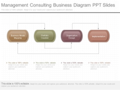 Management Consulting Business Diagram Ppt Slides