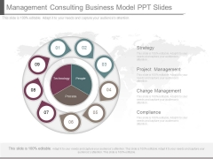 Management Consulting Business Model Ppt Slides