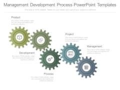 Management Development Process Powerpoint Templates