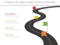 Management Due Diligence Diagram Powerpoint Slides Show