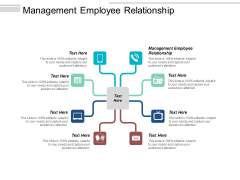 Management Employee Relationship Ppt PowerPoint Presentation Gallery Pictures