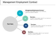 Management Employment Contract Ppt PowerPoint Presentation Infographic Template Graphics Tutorials Cpb