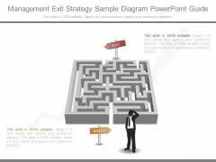 Management Exit Strategy Sample Diagram Powerpoint Guide