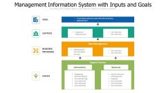 Management Information System With Inputs And Goals Ppt PowerPoint Presentation Infographic Template Themes PDF