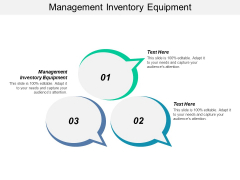 Management Inventory Equipment Ppt PowerPoint Presentation Icon Design Templates
