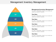 Management Inventory Management Ppt PowerPoint Presentation Summary Images Cpb