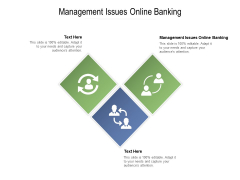Management Issues Online Banking Ppt PowerPoint Presentation Model Cpb Pdf