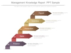 Management Knowledge Report Ppt Sample
