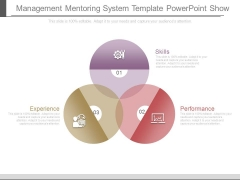 Management Mentoring System Template Powerpoint Show