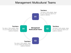Management Multicultural Teams Ppt PowerPoint Presentation Icon Objects Cpb