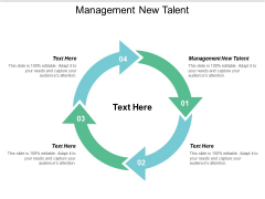 Management New Talent Ppt PowerPoint Presentation Layouts Ideas Cpb
