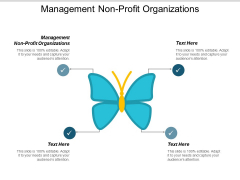 Management Non Profit Organizations Ppt PowerPoint Presentation Inspiration Professional Cpb