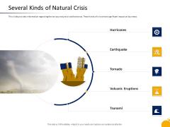 Management Program Presentation Several Kinds Of Natural Crisis Summary PDF