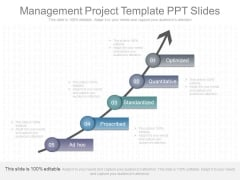 Management Project Template Ppt Slides