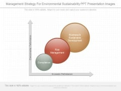 Management Strategy For Environmental Sustainability Ppt Presentation Images