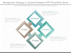 Management Strategy In Industrial Relations Ppt Powerpoint Show