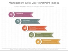 Management Style List Powerpoint Images