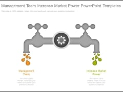 Management Team Increase Market Power Powerpoint Templates