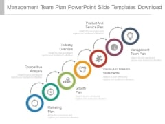 Management Team Plan Powerpoint Slide Templates Download