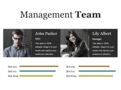 Management Team Ppt PowerPoint Presentation Infographics Summary