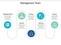 Management Team Ppt PowerPoint Presentation Outline Design Inspiration Cpb
