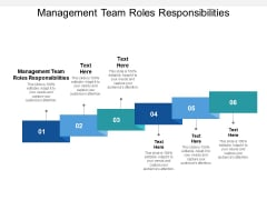 Management Team Roles Responsibilities Ppt PowerPoint Presentation File Layout Cpb