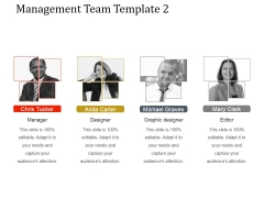 Management Team Template 2 Ppt PowerPoint Presentation Images