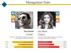Management Team Template 2 Ppt PowerPoint Presentation Infographic Template Example File