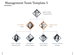 Management Team Template 5 Ppt PowerPoint Presentation Show Graphics