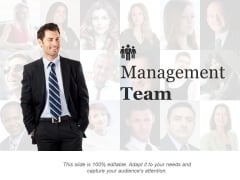 Management Team Template Ppt PowerPoint Presentation Outline Infographics