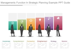 Managements Function In Strategic Planning Example Ppt Guide