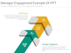 Manager Engagement Example Of Ppt