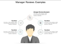 Manager Reviews Examples Ppt PowerPoint Presentation Model Smartart Cpb